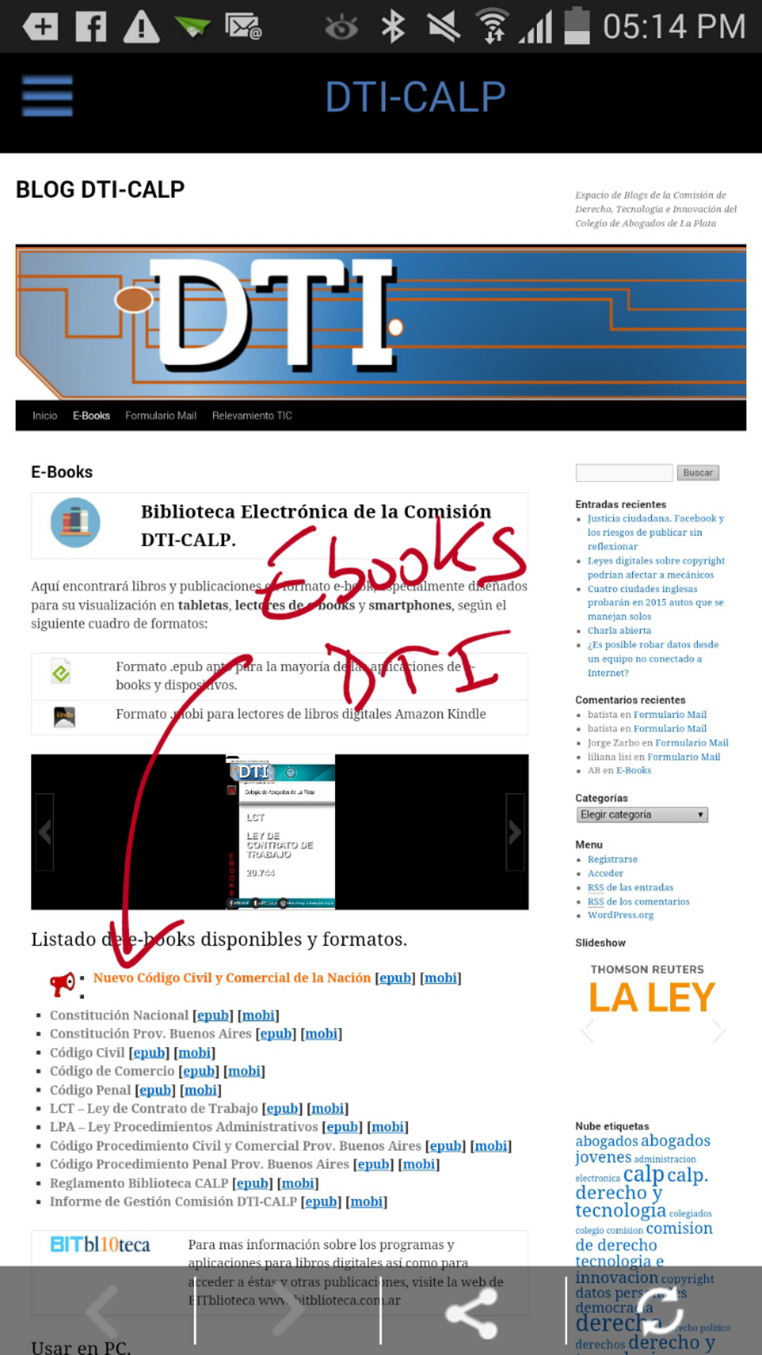 Ebooks DTI